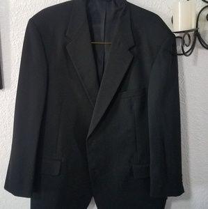 Evan Picone black suit